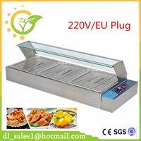 Brand New 3 Pans Electric Stainless Steel Hot Food Warmer Buffet Server Bain Marie Kitchen Equipment