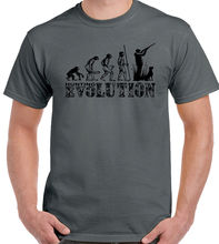 Hunt ING Evolution Mens Funny T-Shirt Hunter Clay Pigeon Shooting Target Gun New T Shirts Tops Tee Unisex