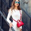 A2008 2016 woman fshion genuine leather mini shell package shoulder bags messenger handbag tote bag for female girls sac a main
