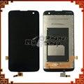 100% Тестирование Для LG K4 K120F K130 ЖК-Экран с Сенсорным Экраном Ассамблея Черный Цвет Бесплатная Доставка