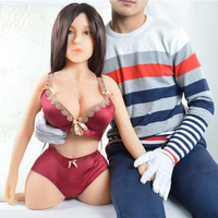 Japanese Silicone Sex Doll with Head Vaginal Artificial Pussy Real Vagina Realistic Love Doll Male Masturbator Products for Men