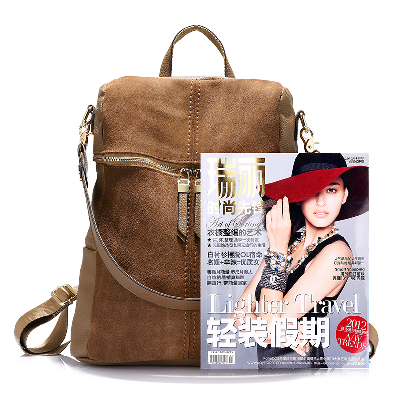 7430a391442 Aliexpress.com   Buy LOVEVOOK women backpack genuine leather school bags  for teenage girls casual large capacity multifunctional shoulder bag  vintage from ...