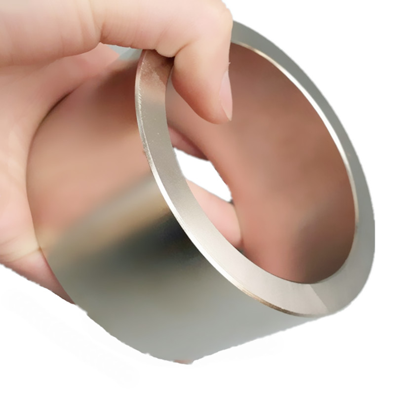 1 piece NdFeB Magnet Ring OD 100x80x50 (+/-0.1)mm Super Strong Neodymium Permanent Magnets Tube Rare Earth Magnets Grade N42 15 300pcs ndfeb n42 magnet ring od 13x3 3x6 mm round strong diametrically neodymium permanent rare earth magnets zinc plated