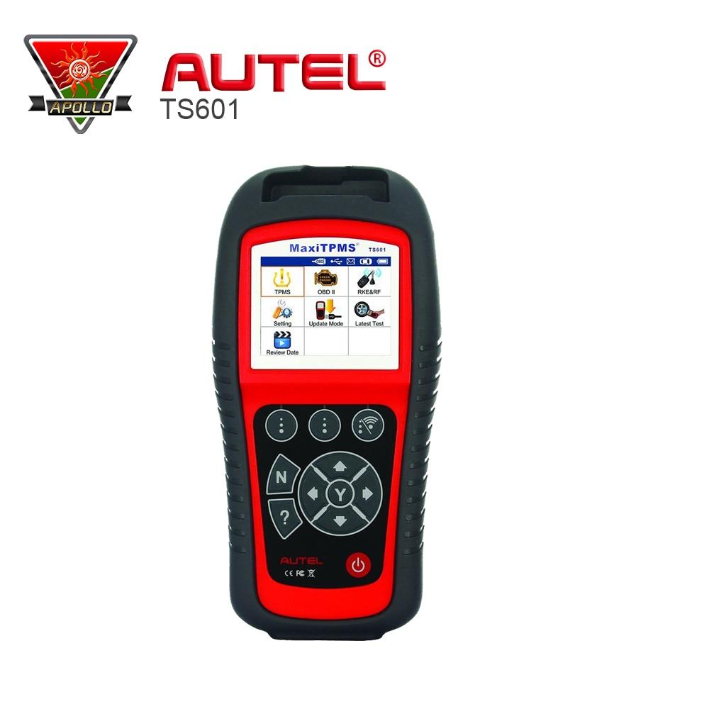 Цена за 2017 100% первоначально Autel MaxiTPMS TS601 с OBD2 адаптеры TPMS диагностики и Услуги инструмент обновления через Интернет DHL Бесплатная