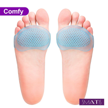 цена на 4 boxes Metatarsal Pads for Women and Men, Ball of Foot Cushions  Heel Inserts for Metatarsalgia Neuroma Mortons  Relieve Pain