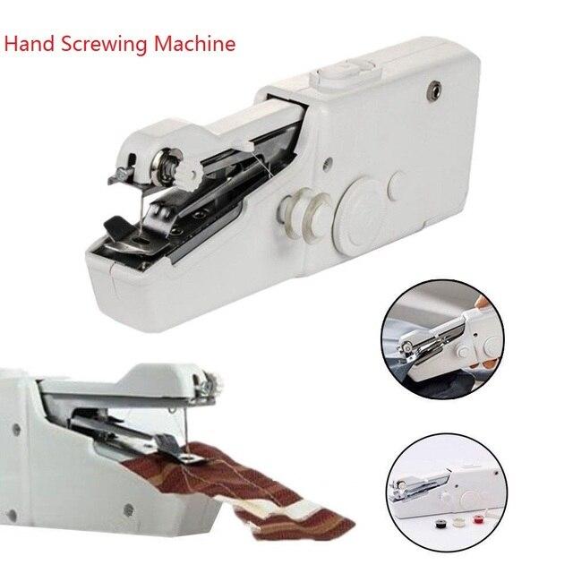 Mini Hand Portable Electric Handheld Sewing Machine Smart Tailor Amazing Portable Mini Electric Handheld Sewing Machine
