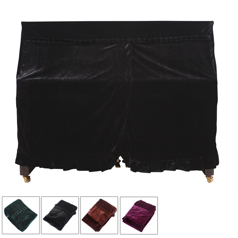 4 colors 158 x 112 x 50cm Pleuche Musical Piano Dust proof Cover Dust Guard Tool for Upright Piano