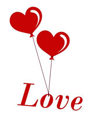 Fashion love sign heart wall vinyl sticker custom made home decoration poster