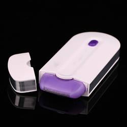 Лазерный Эпиляторы для женщин заряжаемый триммер для волос гладкой Touch удаления мгновенных и безболезненных сенсор свет безопасно бритвы