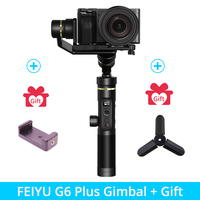 Feiyutech Feiyu G6 Plus SplashProof ручной карданный стабилизатор для смартфона Iphone Gopro hero экшн камера/беззеркальная камера
