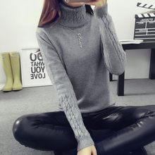 Lcybhe Hot 2019 Spring Autumn Women Sweaters and Pullovers Women twisted thickening slim pullover sweater(China)