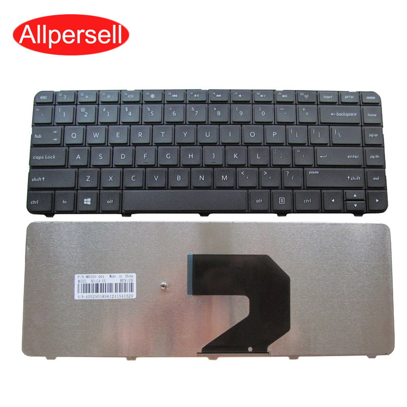 Laptop keyboard For HP CQ43 HP1000 HP431 430 435 G4-1000 Q72C G6-1000 notebook keyboard Brand New US