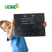 Decorative Wooden Bulletin Board Plaques Erasable Writing Boards Multi-functional Chalkboard Blackboard Whiteboard Home Decor