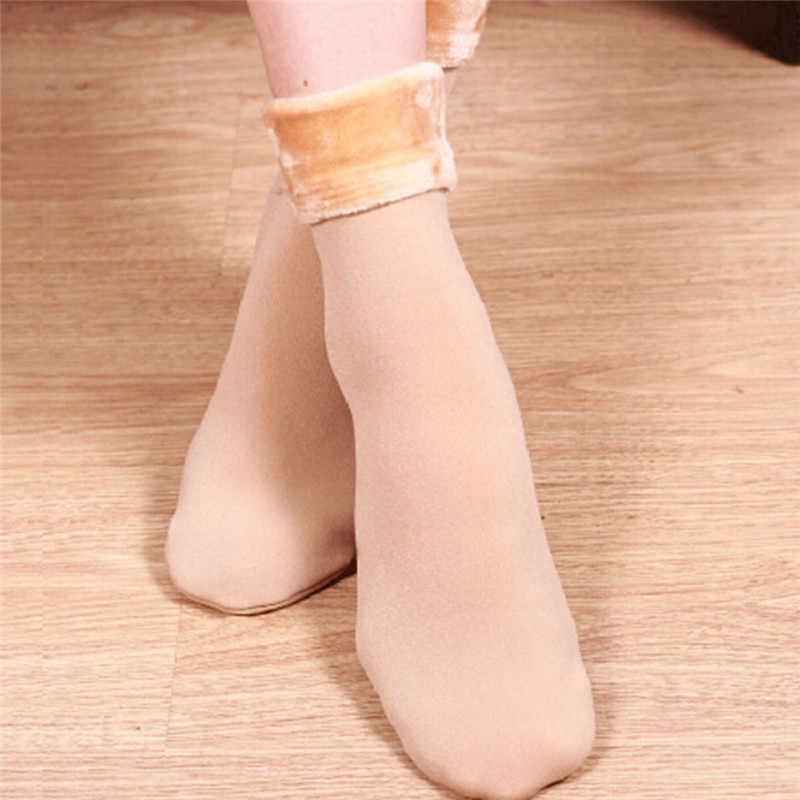 Kadın Yün Ev Calcetines Kar botları pamuk çorap Kadın Kadife Çorap r sıcak tutan çoraplar çorap Kalınlaştırmak çorap