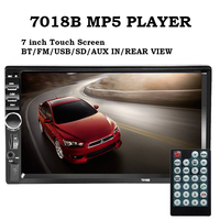 Hot Sell Car Stereo Player Car Radio 2 Din Car MP5 Palyer Bluetooth Rear View Camera