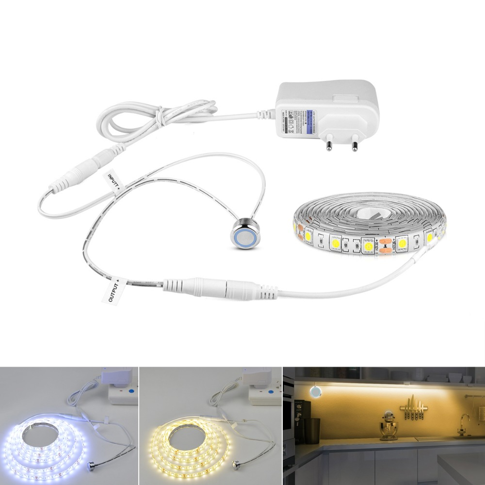 Stepless Dimmable LED Strip Adjustable Touch Switch Night ...
