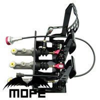 SPECIAL OFFER 0 625 Master Cylinders Universal Racing Car Hydraulic Pedal Box With Balance Dash Adjuster