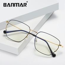 BANMAR 平方抗ブルー遮光メガネ uv400 読書放射線耐性のコンピューターメガネゲーム眼鏡 1901