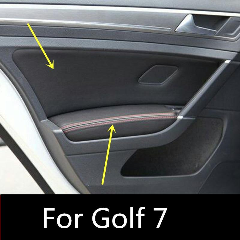 8pcsset Protective Auto Car Decoration Interior Door Panel Armrest