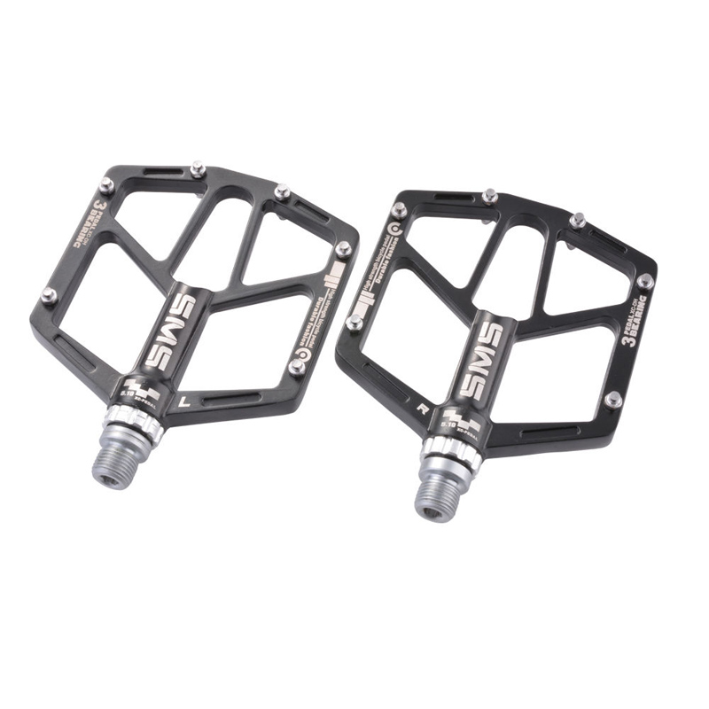 все цены на Mountain Road Bicycle Pedals Aluminum Alloy Sealed Fixed 3-sealed Bearing Platform Pedals Bike Accessories Pedales De Bicicleta онлайн
