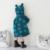 Bebés de invierno Faux Fur Fleece Coat Partido Pageant Chaqueta Caliente 1-5Y Bebé prendas de Vestir Exteriores de Los Niños Ropa de Navidad Traje Para La Nieve