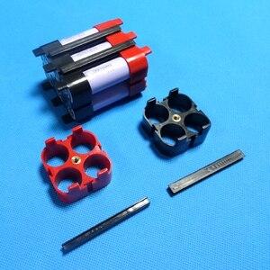 Image 4 - حامل بطارية ليثيوم أيون 18650 للسيارة EV 4 P/6 P مادة ABS + PC جودة عالية 18650 حامل بطارية لحزمة بطارية الطاقة الكبيرة