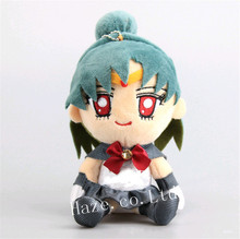 цена на Anime Sailor Moon Sailor Pluto Cute Stuffed Soft Plush Toy Doll Gift