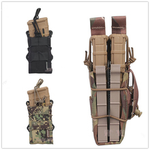 EMERSON Double Modular Rifle Magazine Pouch Airsoft hunting Utility MOLLE MAG Digital desert EM6035 emersongear emerson double mag pouch for ss vest 556 762 magazine plate pouch airsoft hunting mag holder pouch multicam