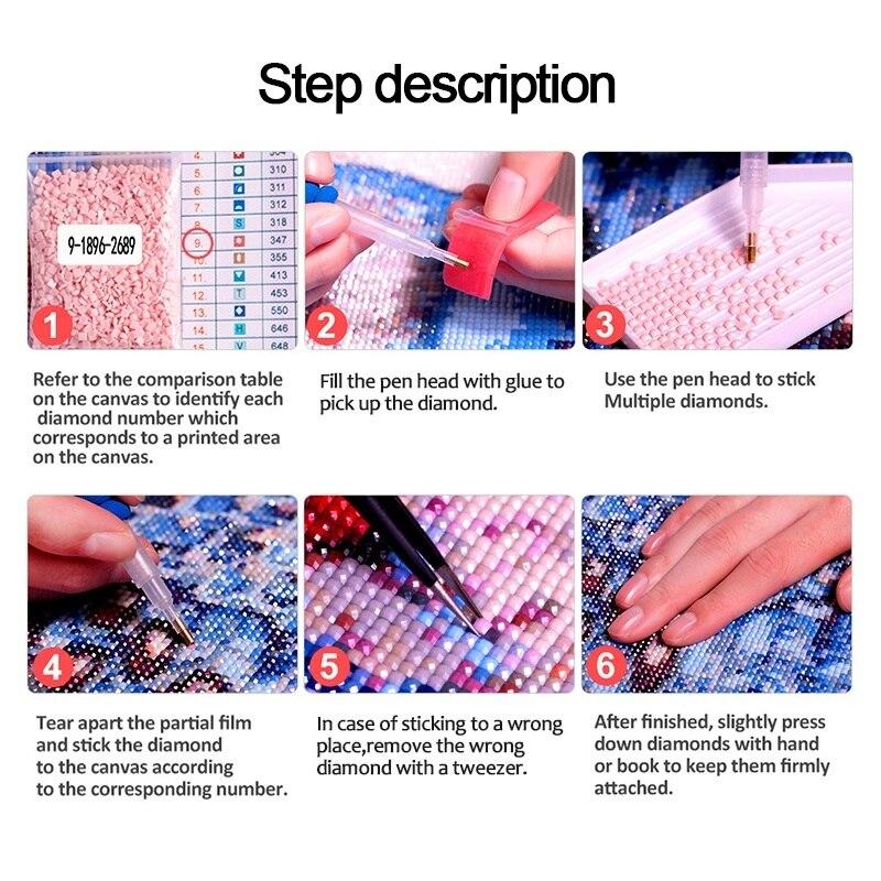 Diamond Painting Full Square/Round Daimond PaintingAnimal dogs gaze Mosaic Rhinestone Embroidery Painting Wall Decor LE01428