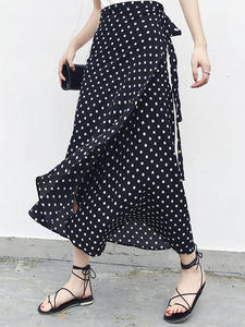 PADEGAO 2019 High Waist Summer Maxi Long Skirts For Women