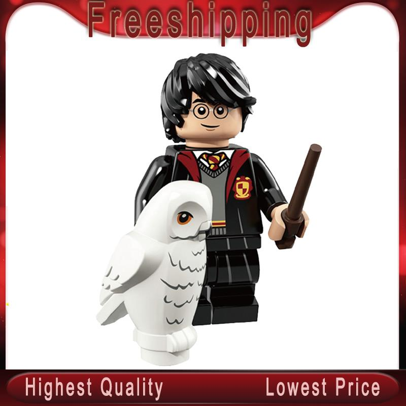 Harry Action Figure Potter Dobby Voldemort Hermione Ron Weasley Dumbledore Building Blocks Toys For Children WM559
