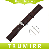 France Genuine Leather Watchband 18mm 20mm 22mm Quick Release Watch Band Steel Buckle Wrist Strap For