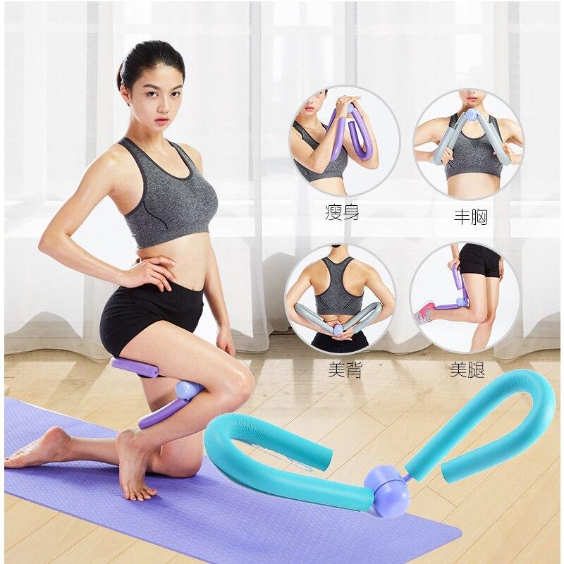 Thigh Master Toner Exerciser Leg Arm Ab Fitness Machine Home Gym Exerciser Yoga
