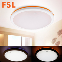 FSL LED 2 Color Changing Ceiling Light Dimmable Aluminum Alloy Acrylic Shell Lamp For Living Room
