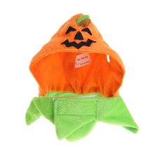 Halloween Pet Headwear Pumpkin Hat Cat Kitten Puppy Costume Cosplay Outfit Kitty