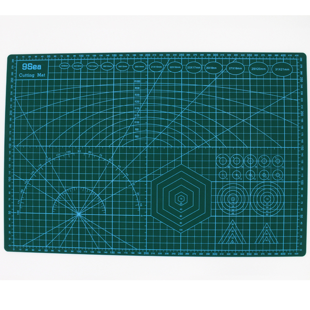 Aliexpress Com Buy A3 Pvc Cutting Mat Double Sided Self