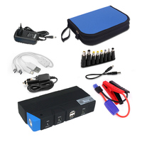 Car Jump Starter 600A 15000mAh Multifunction Power Bank Battery Booster For Phone Charger Two USB Ports