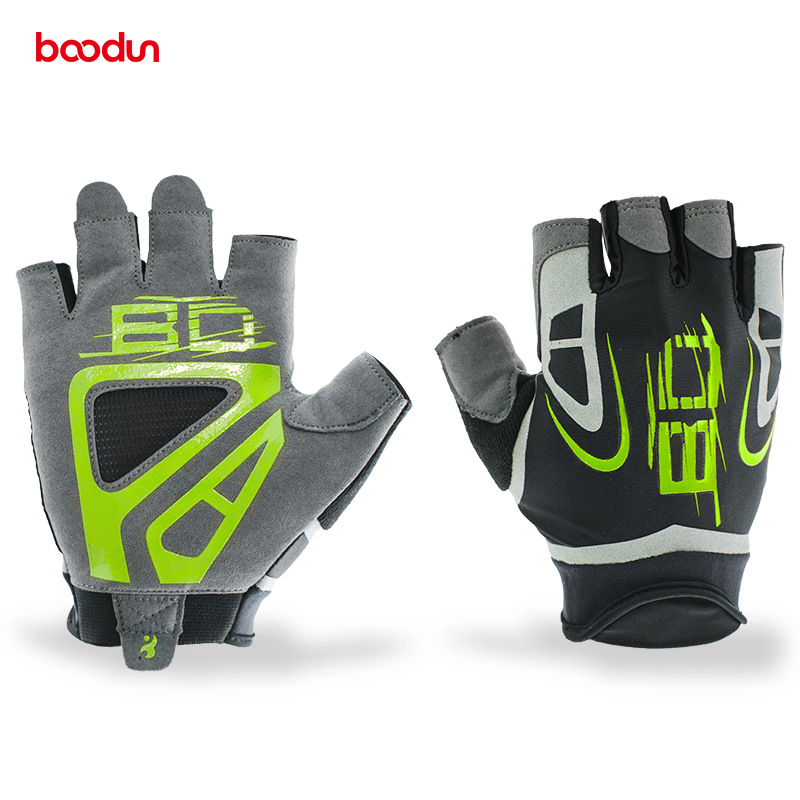 Cycling <font><b>Gloves</b></font> Half finger Outdoor Sport Cycle Mtb Road Riding <font><b>Bike</b></font> Bicycl <font><b>GEL</b></font> <font><b>Gloves</b></font> Bicicleta <font><b>Mountain</b></font> <font><b>Bike</b></font> <font><b>Gloves</b></font> Black Green image