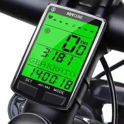 JOY 583BT bezprzewodowy komputer rowerowy Bluetooth wodoodporny licznik rowerowy licznik odległości stoper prędkościomierz zegarek w Komputery rowerowe od Sport i rozrywka na