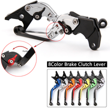 CNC Levers for Honda CBR500R CB500F CBR300R CB300F Grom MSX125 Motorcycle Adjustable Folding Extendable Brake Clutch Levers цена 2017