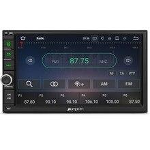 "Calabaza 2 Din 7 ""Android 7,1 coche universal Radio No DVD Player navegación GPS Quad-Core coche ESTÉREO wifi 3G arranque rápido Headunit"