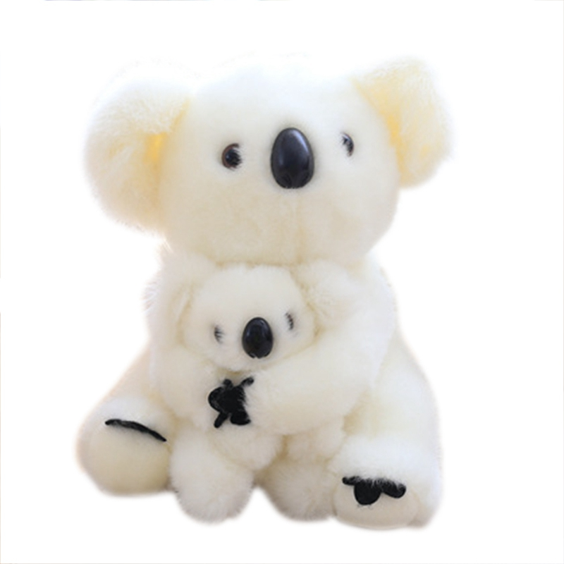 1Pc 20CM Super Cute Small Koala Bear Plush Toys Adventure Koala Stuffed Mini Lovely Soft Bear for Baby Birthday Gifts