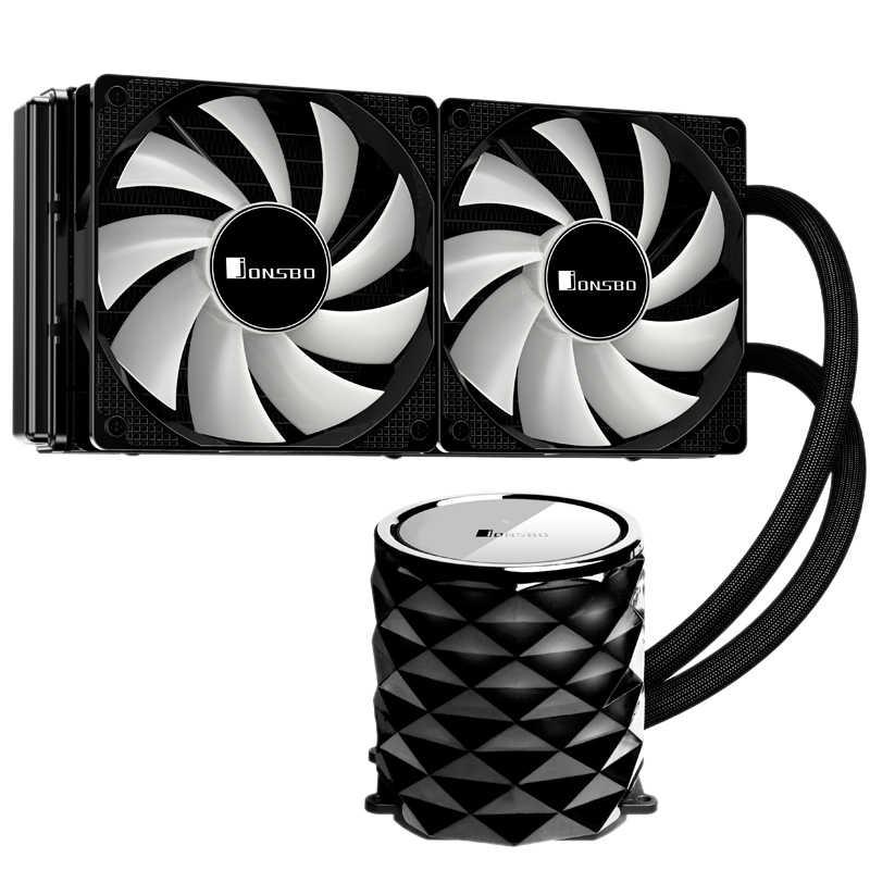 Jonsbo Tw3-240 Pc Cpu Water Cooling 4Pin Pwm Integrated Water Cooling Cooler For Lga 775/115X Intel Amd Ryzen Apu Computer