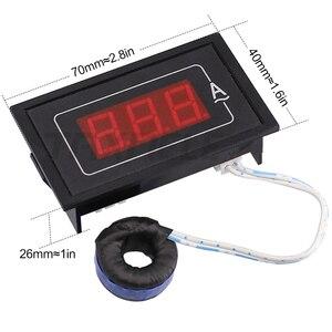 Image 5 - Цифровой измеритель напряжения и тока, тестер с двойным дисплеем DL85 AC80 500V 100A 60A, светодиодный амперметр, вольтметр, амперметр переменного тока
