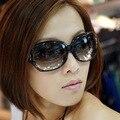 Caja grande gradiente Gafas de Sol polarizadas gafas de sol de las mujeres al por mayor con estilo 3043