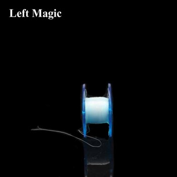 цена на 50M Scroll Type Sub-Thread Strong Invisible Thread Transparent (White/Black) Magic Tricks Accessories Elasticity E3003