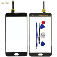Touchscreen Digitizer Panel Replacement For Meizu M2 Note Blue Charm Note2 Outer Glass Lens Sensor Phone Repair Part With Tools