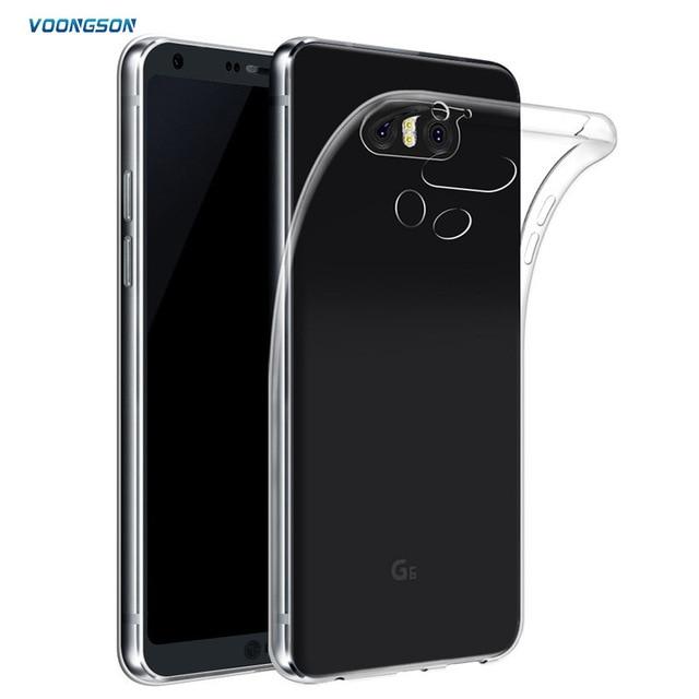 300b8b433c2 Ultra Thin Soft TPU Gel Original Transparent Case For LG G6 G 6 Crystal  Clear Silicon