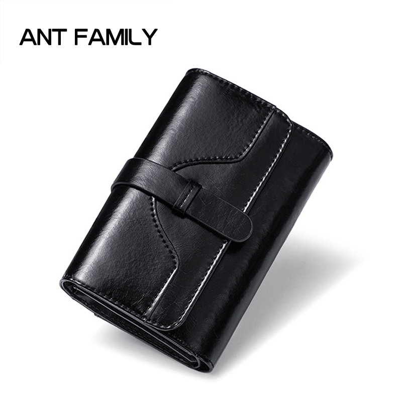 Women Wallets Short Purse Genuine Leather Wallet Women Luxury Brand Small Coin Purse Female Clutch 3 Fold Cowhide Leather Wallet first layer cowhide genuine leather oil wax 3 fold wallets clutch vintage fashion ladies purse female famous brand high quality