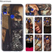Sexy Sleeve Tattoo Girl Case Cover for Xiaomi Redmi Note 7 P